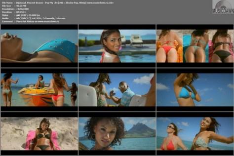 Dj Assad & Vincent Brasse - Pop My Life (2011, Electro Pop, HD 1080p)