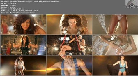 Dj Sava feat. Andreea D & J. Yolo - Free (2012, House, HD 1080p)