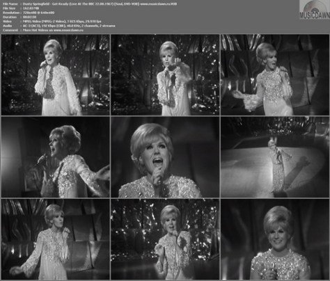 Dusty Springfield – Get Ready (Live At The BBC 22.08.1967) [DVD-VOB] Music Video