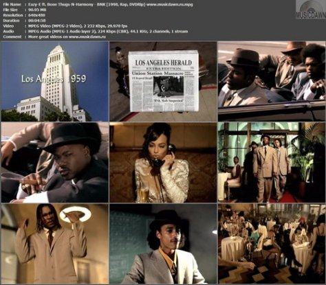 Eazy-E ft. Bone Thugs-N-Harmony – BNK [1998, DVDRip] Music Video