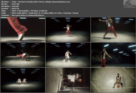 Ericke - The Beat Is Rockin (2007, Electro, DVDrip)