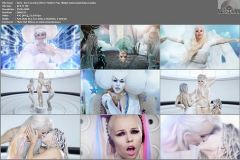 Kerli – Zero Gravity [2012, HD 1080p] Music Video