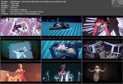 Kylie Minogue – Get Outta My Way [2010, HD 1080p] Music Video