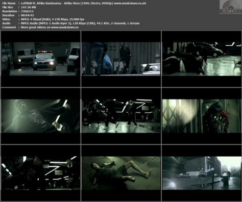 Leftfield ft. Afrika Bambaataa - Afrika Shox (Chris Cunningham Video) (1999, Electro, DVDrip)