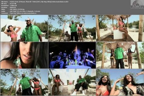 N.O.R.E. feat. Lil Wayne & Pharrell – Finito [2011, HD 720p] Music Video