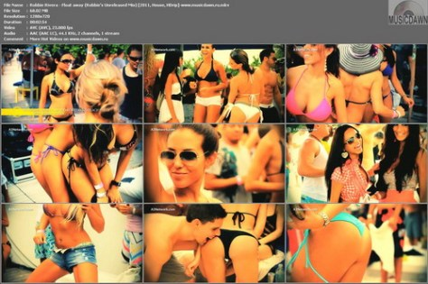 Robbie Rivera – Float Away (Robbie's Unreleased Mix) [2011, HD 720p] Music Video (Re:Up)