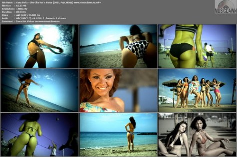 Sara Sofia – Ohe Oha Vas a Soñar (2 Versions) [2011, HD 720p] Music Videos