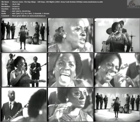 Sharon Jones & The Dap-Kings - 100 Days, 100 Nights (2007, Deep Funk Revival, DVDrip)