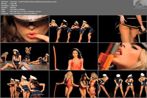 Tina More – Touch Me [2010, HD 720p] Music Video
