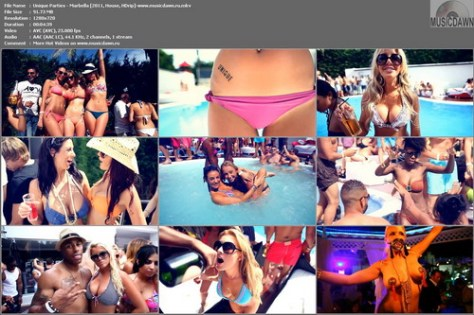 Unique Parties – Marbella [2011, HD 720p] Music Video