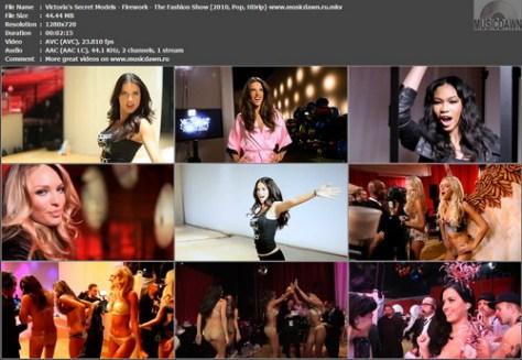 Victoria's Secret Models - Firework - The Fashion Show (2010, Pop, HDrip)