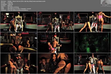 Webbie – Bounce Dat Azz [2011, HD 720p] Music Video