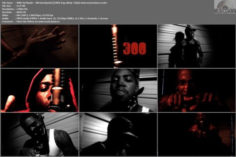 Willy Northpole – 300 [2009, HDrip] Music Video (Re:Up)