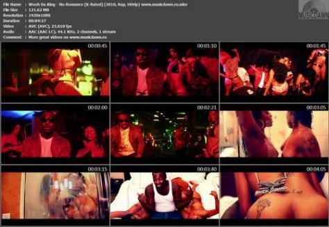 Wooh Da King - No Romance (X-Rated Version) {2010, Rap, HDrip}