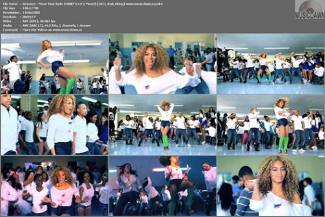 Beyonce - Move Your Body (2011, HDrip)