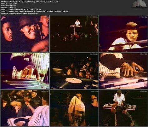 Low Profile - Funky Song (1990, Rap, DVDRip)