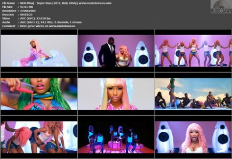 Nicki Minaj – Super Bass [2011, RnB, HDrip 1080p] Music Video