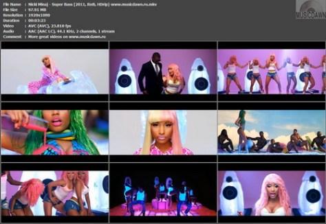 Nicki Minaj – Super Bass [2011, RnB, HDrip 1080p] Music Video