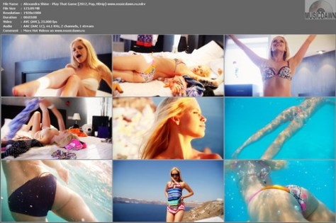 Alexandra Shine – Play That Game [2012, HD 1080p] Music Video