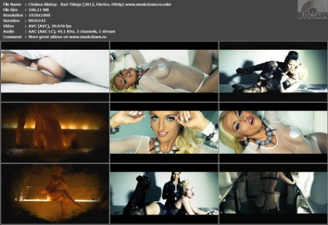 Chelsea Bishop – Bad Things [2012, HD 1080p] Music Video