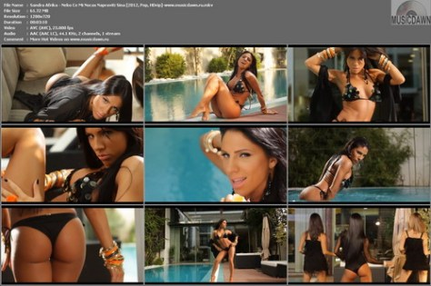 Sandra Afrika – Neko Ce Mi Nocas Napraviti Sina [2012, HD 720p] Music Video
