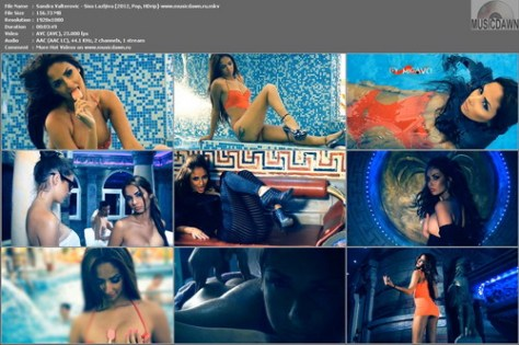 Sandra Valterovic – Siso Lazljiva [2012, HD 1080p] Music Video