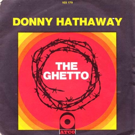 Donny Hathaway - The Ghetto 7'' Picture Sleeve (Atco) '1971