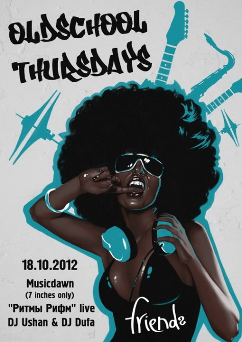 Oldschool Thursday with Musicdawn & Co. @ Friends Bar (18.10.2012)