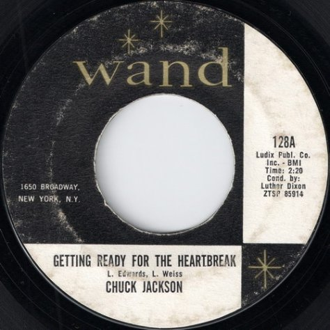 Chuck Jackson - Get Ready For The Heartbreak (Wand)