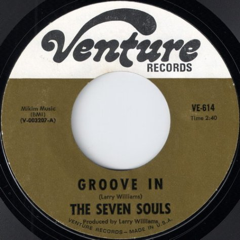 "The Seven Souls – Groove In (Venture) [7""] '1968"