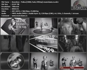 Boombox – Polina [2008, DVDrip] Music Video