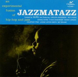 Guru - Jazzmatazz Volume 1 '1993 Front Cover Art