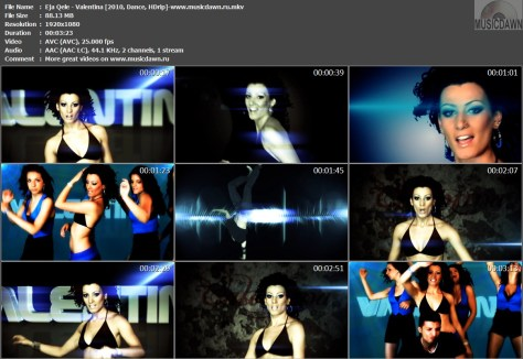 Valentina - Eja Qele (2010, Dance, 1080p HDrip)