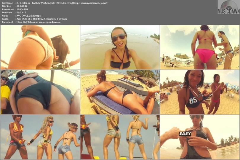 DJ Reckless - Endlich Wochenende [2013, Electro, HD 720p]