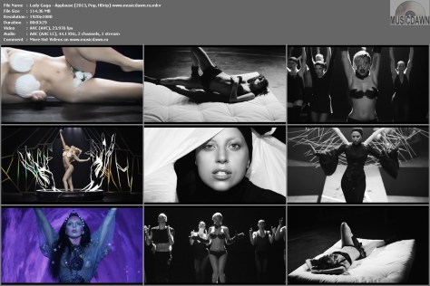 Lady Gaga - Applause [2013, Pop, HD 1080p]