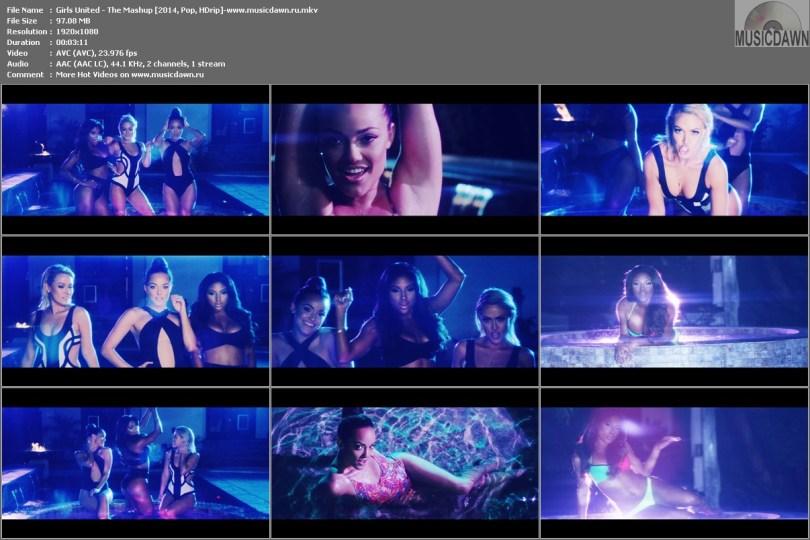 Girls United - The Mashup [2014, Pop, HD 1080p]