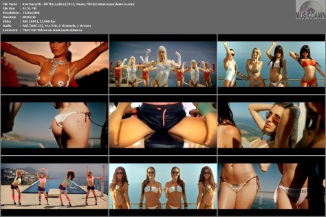 клип Ron Bacardi - All The Ladies [2013, HD 1080p]