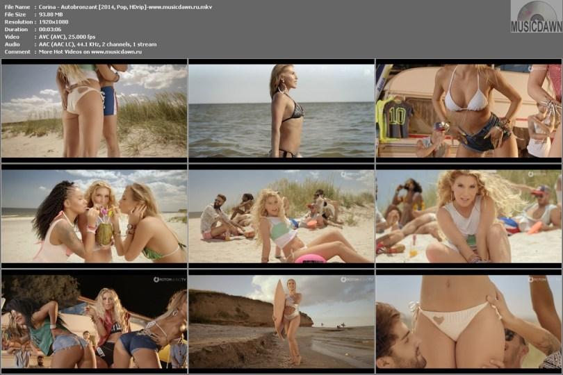 Клип Corina - Autobronzant [2014, Pop, HD 1080p]