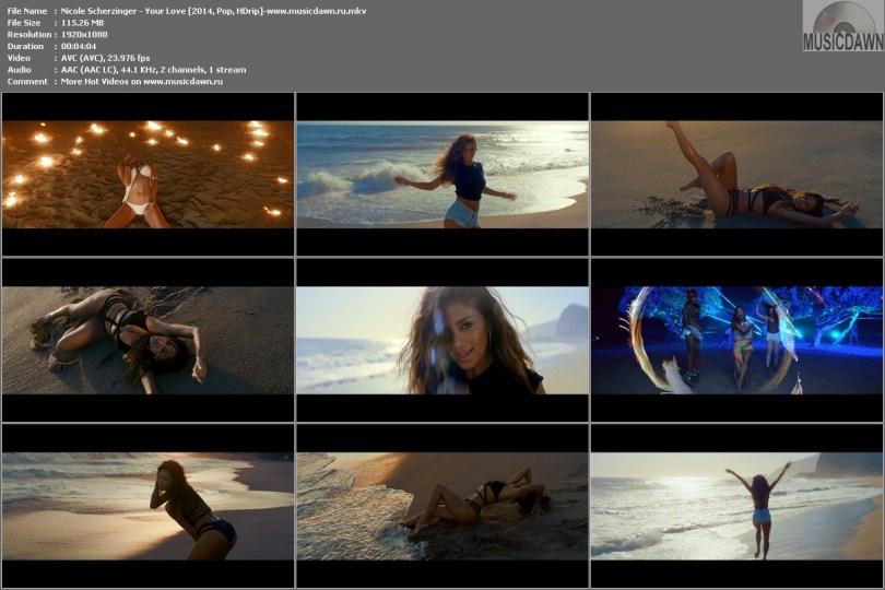 Клип Nicole Scherzinger - Your Love [2014, HD 1080p]