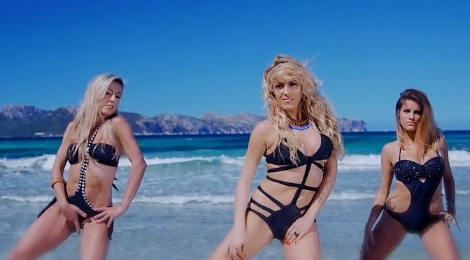 Dj Valdi Feat. Ethernity - Sax On The Beach HD Video