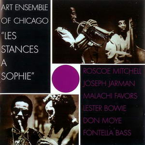 Art Ensemble Of Chicago - Les Stances A Sophie OST 1970 Cd Front Cover Art