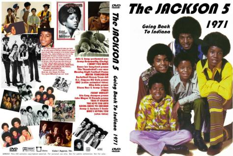 The Jackson 5 - Going Back To Indiana DVD Cover Art