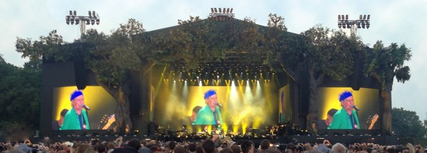 Before They Make Me Run - Stones at Hyde Park (3)