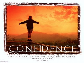 DJ Bay Quote of the Day. Be Bold, Be Confident
