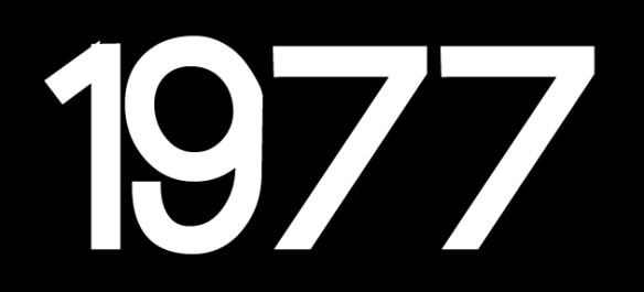 1977 logo for webpage