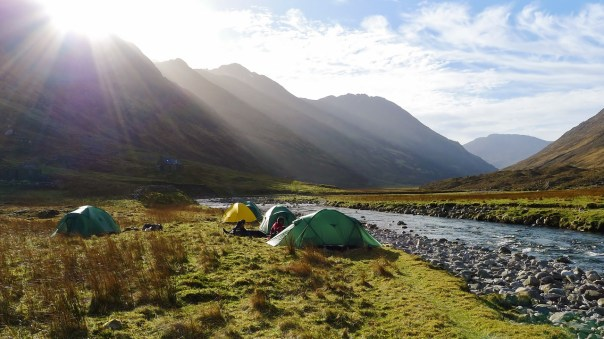 Camping in Glen Lichd. Photo- Calum Muskett