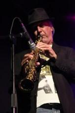 Udo Meller am Sopransaxophon