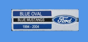Blue Oval – Blue Mustangs 1994-04