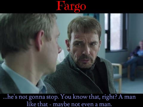 shareasimage Fargo'Billy Bob Thornton and Martin Freeman tap into their alter egos by The Examiner source Google Images