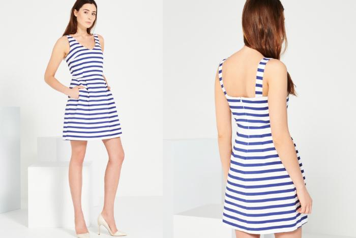 sukienka w paski reserved